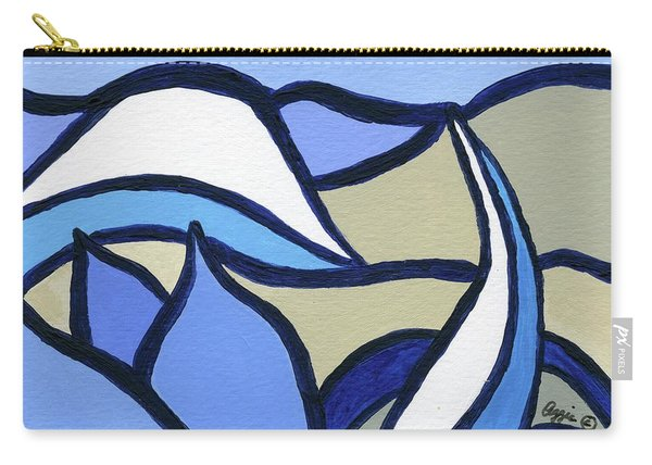 Blue Tulip Carry-all Pouch