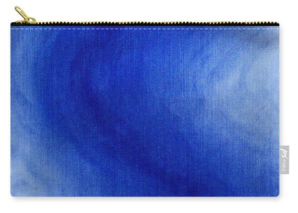 Blue Vibration Carry-all Pouch