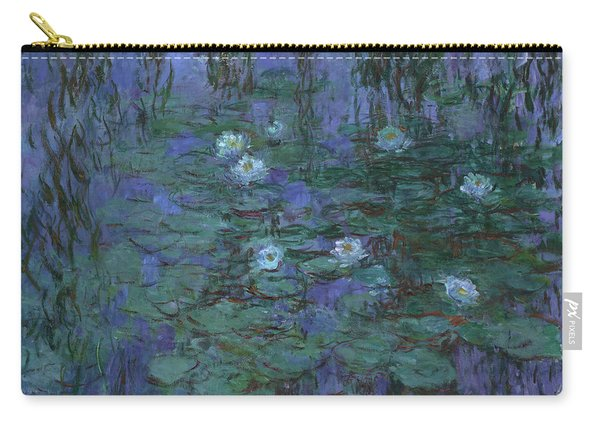 Blue Water Lilies, 1919 Carry-all Pouch