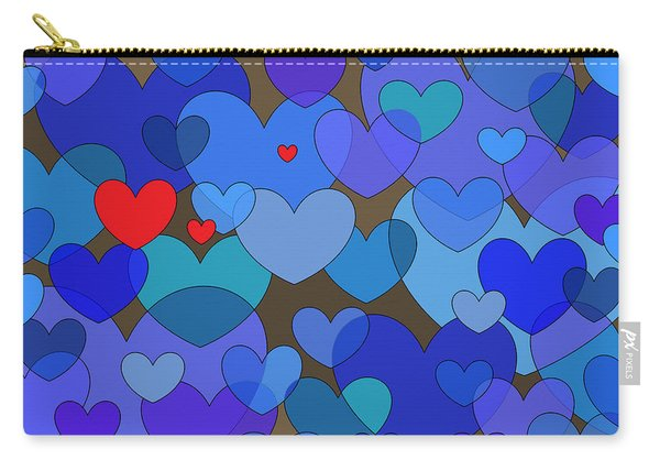 Blue Without You Carry-all Pouch