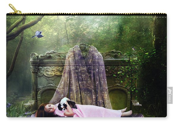Bluebell Dreams Carry-all Pouch