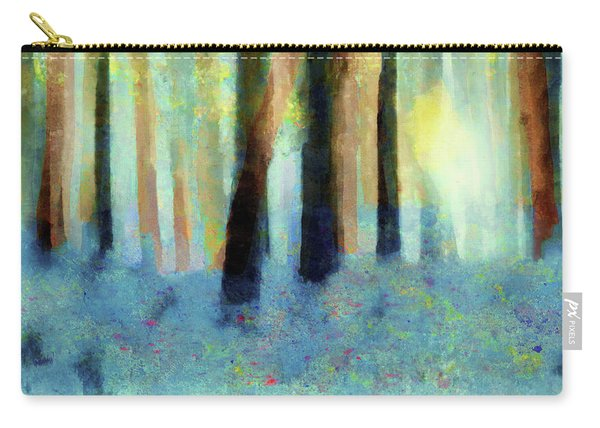 Bluebell Wood By V.kelly Carry-all Pouch