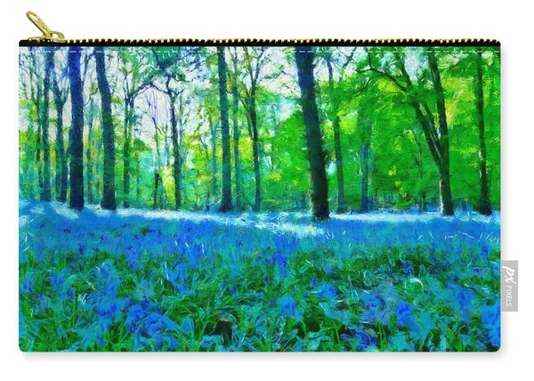 Bluebells In Woodland Carry-all Pouch