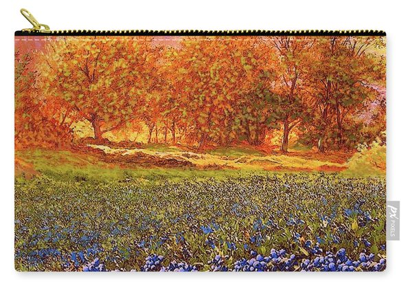 Blueberry Fields Season Of Blueberries Carry-all Pouch