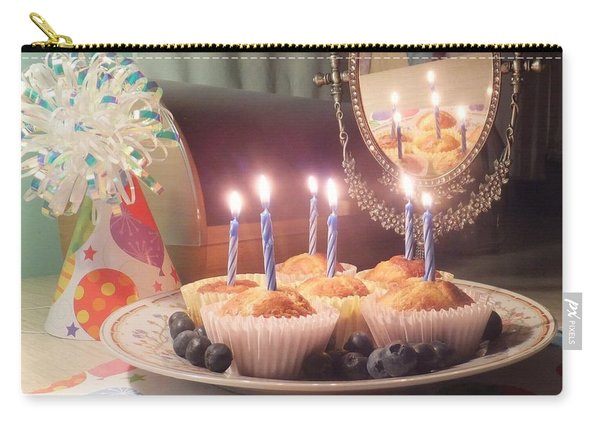 Blueberry Muffin Birthday Carry-all Pouch