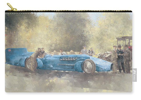 Bluebird And Ghost Carry-all Pouch