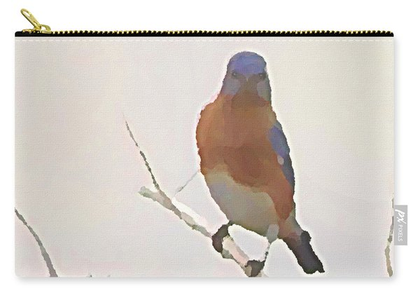 Bluebird Stare  Carry-all Pouch