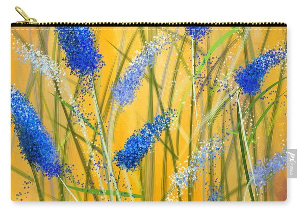 Bluebonnets Glow Carry-all Pouch