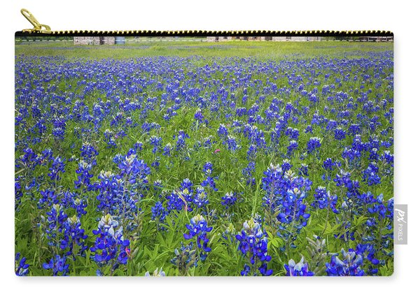 Bluebonnets In Marble Falls Carry-all Pouch