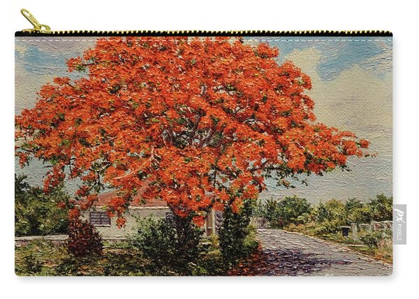 Bluff Poinciana Carry-all Pouch