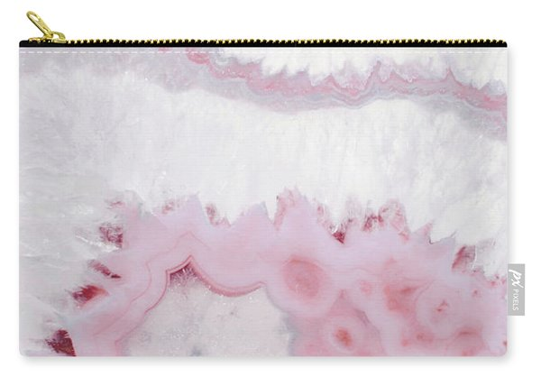 Blush Agate Carry-all Pouch