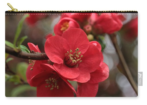 Blushing Blooms Carry-all Pouch