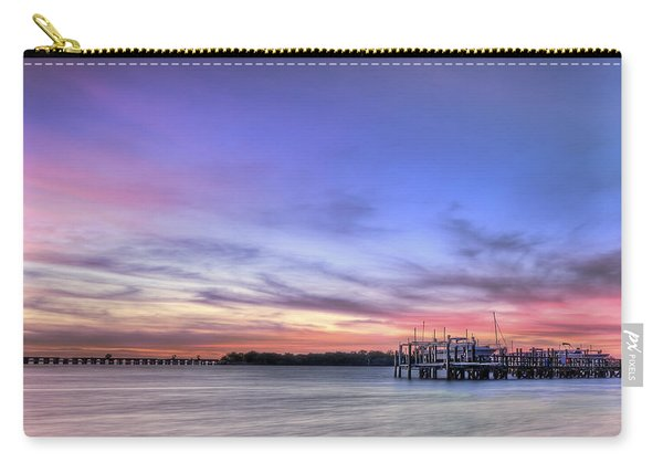 Blushing Skies Carry-all Pouch