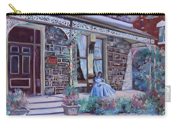 Carry-all Pouch featuring the painting Blythewood Grange Ballarat by Ryn Shell