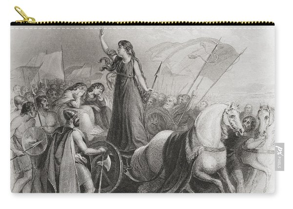 Boadicea Haranguing The Britons Carry-all Pouch