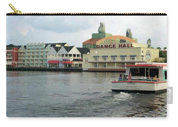 Boardwalk Boat Ride Walt Disney World Mp Carry-all Pouch