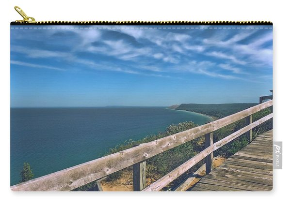 Boardwalk Over Sleeping Bear Dunes Lakeshore Carry-all Pouch