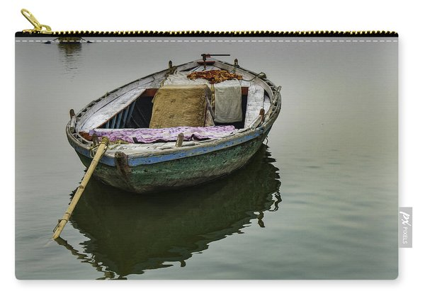 boat at Ganges Carry-all Pouch