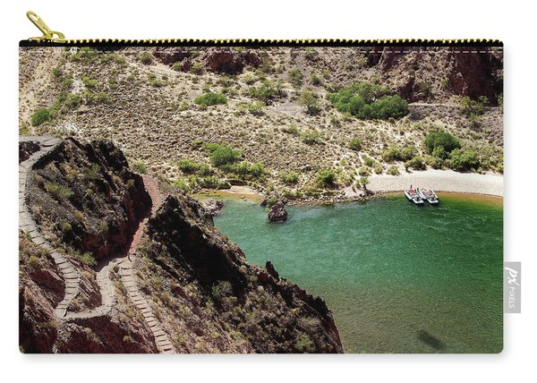 Boat Beach On The Colorado River Carry-all Pouch