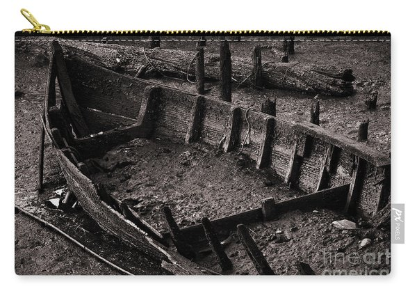 Boat Remains Carry-all Pouch
