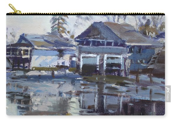 Boathouses By Icy Creek Carry-all Pouch