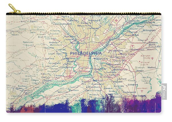 Boathouse Row Philadelphia Carry-all Pouch