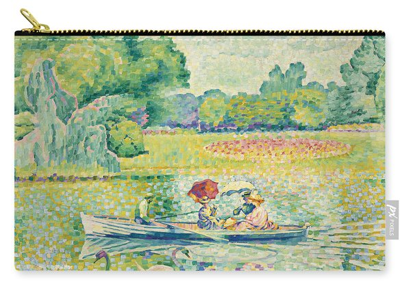 Boating In The Bois De Boulogne Carry-all Pouch