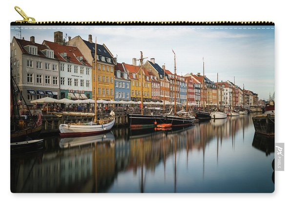 Boats At Nyhavn In Copenhagen Carry-all Pouch