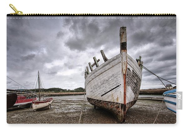 Boats By The Sea Carry-all Pouch