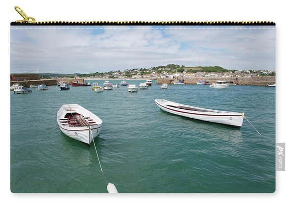 Boats In Habour Carry-all Pouch