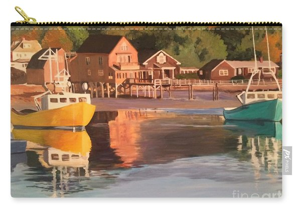 Boats In Kennebunkport Harbor Carry-all Pouch