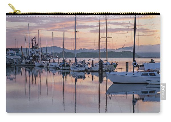 Boats In Pastel Carry-all Pouch
