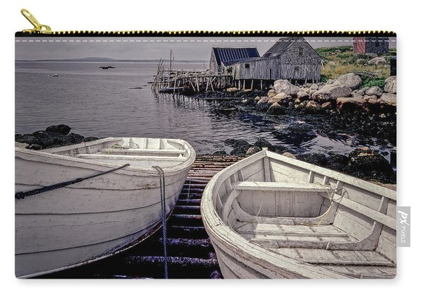 Boats Near Peggys Cove Carry-all Pouch