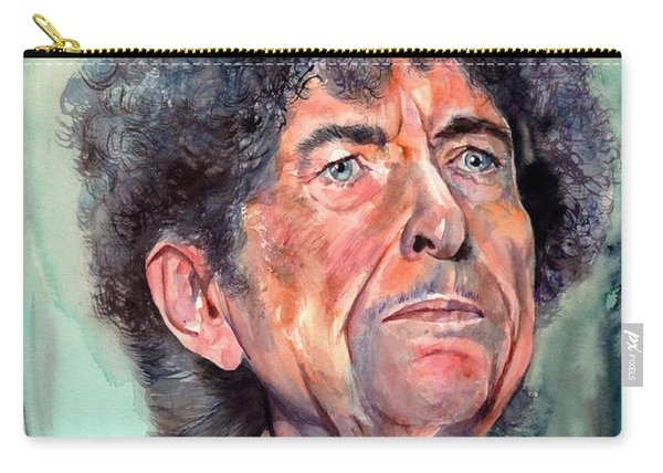 Bob Dylan Watercolor Portrait  Carry-all Pouch