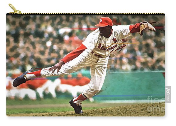 Bob Gibson, 1964 Game 7 Series Mvp Carry-all Pouch