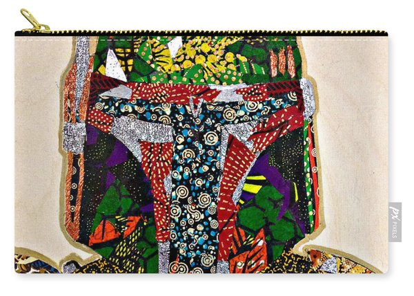 Boba Fett Star Wars Afrofuturist Collection Carry-all Pouch