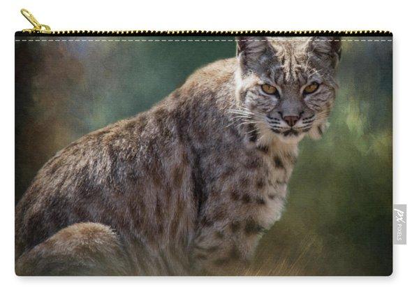 Bobcat Gaze Carry-all Pouch
