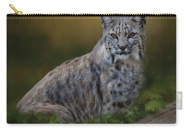 Bobcat On Alert Carry-all Pouch