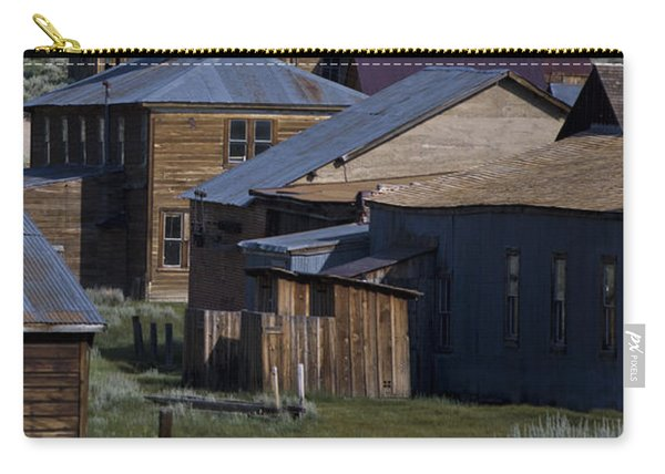 Carry-all Pouch featuring the photograph Bodie 31 by Catherine Sobredo