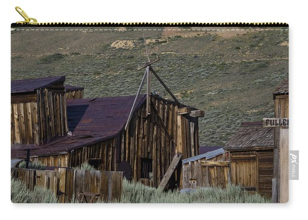 Carry-all Pouch featuring the photograph Bodie 33 by Catherine Sobredo