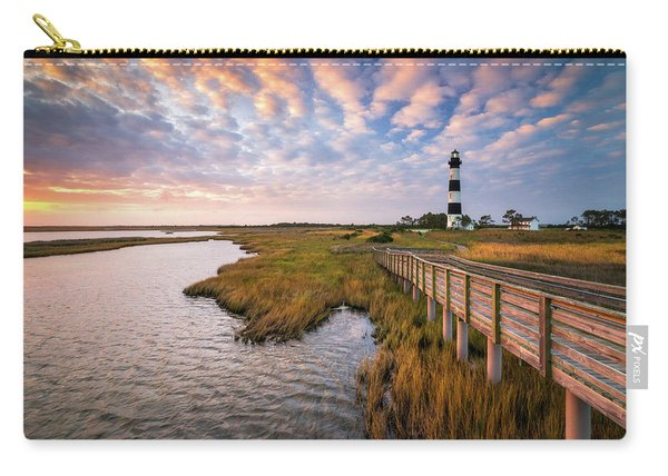 Bodie Island Lighthouse Outer Banks North Carolina Obx Nc Carry-all Pouch