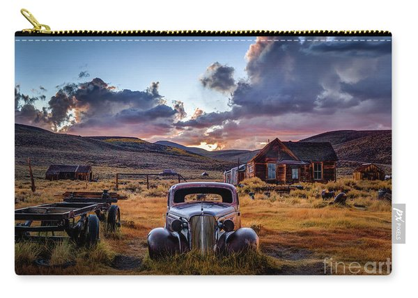 Bodie's 1937 Chevy At Sunset Carry-all Pouch