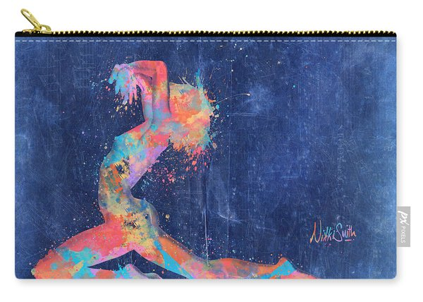 Bodyscape In D Minor - Music Of The Body Carry-all Pouch