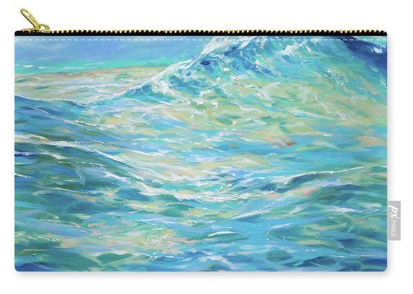 Bodysurfing Rolling Wave Carry-all Pouch