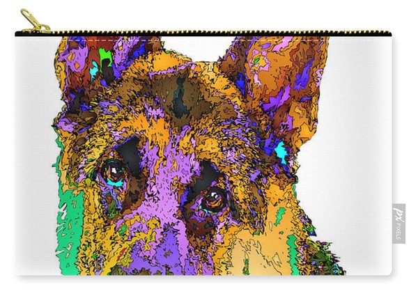 Bogart The Shepherd. Pet Series Carry-all Pouch