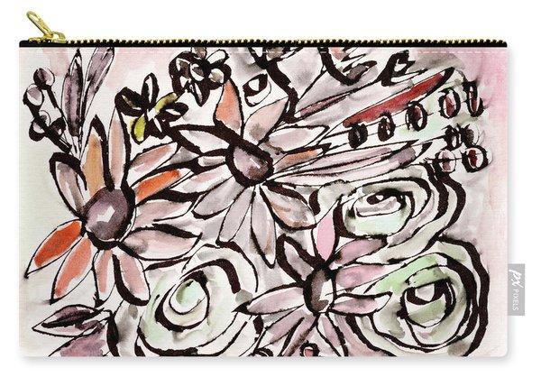 Bohemian Garden 2- Art By Linda Woods Carry-all Pouch