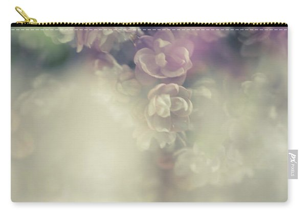 Boho Chic Lilac Bouquet Carry-all Pouch