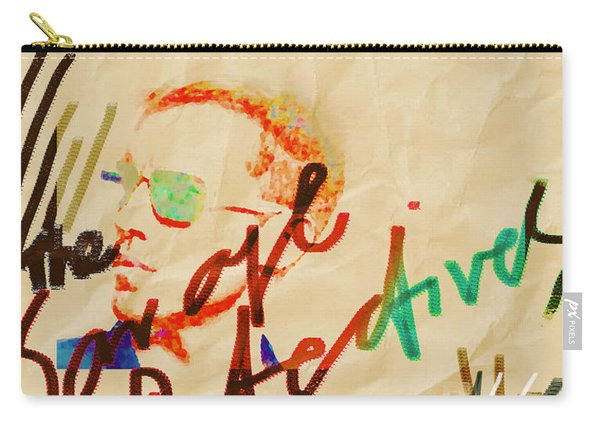 Bolano Savage Detectives Poster 2 Carry-all Pouch