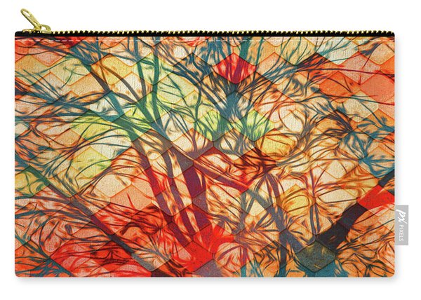 Bold And Colorful Carry-all Pouch