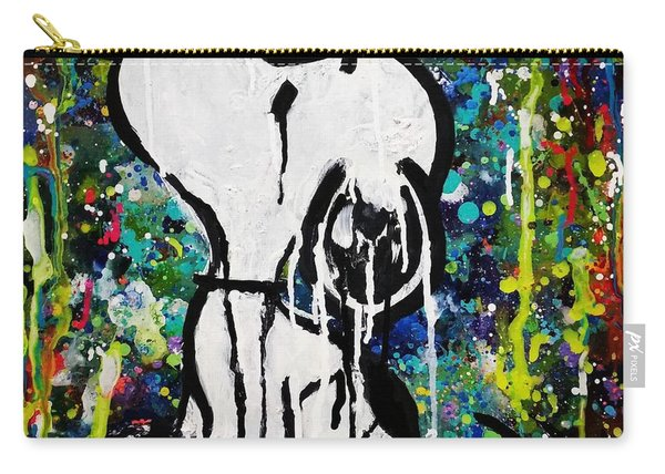 Bold.snoopy Carry-all Pouch